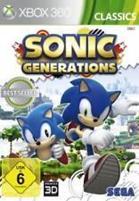 XBOX 360 Sonic Generations Deutsch OVP Neuwertig