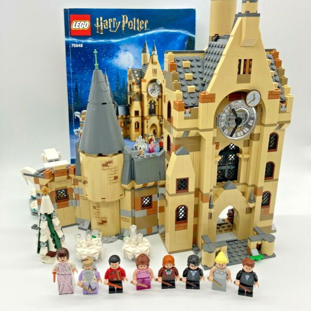 LEGO Harry Potter 75948 Hogwarts Clock Tower Yule Ball Complete Set Christmas