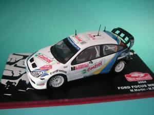 FORD-FOCUS-RS-WRC-03-MARTIN-RALLY-MONTE-CARLO-2004-1-43-NEW-IXO-ALTAYA