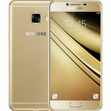 New Imported Samsung Galaxy C5 Duos Dual SIM 64GB 4G LTE - Gold