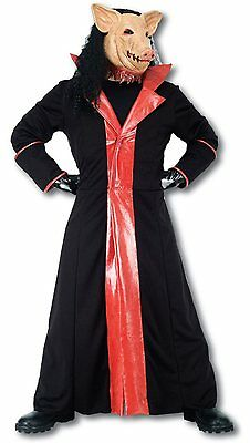 Saw Pig Size Medium Film Horror Fancy Dress Costume Outfit P8751
