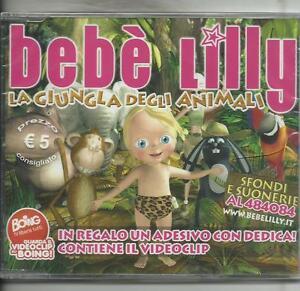 BEBE-039-LILLY-La-giungla-degli-animali-2007-CD-single