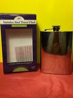 Epic Stainless Steel Mirror Finish Travel Flask Collectible Gift