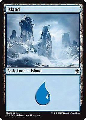 4 x Mountain 264//269 Magic the Gathering MTG Basic Land - Khans of Tarkir