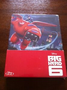 BIG-HERO-6-1-BLURAY-EDICION-ESPECIAL-EN-STEELBOOK-NEW-SEALED-NUEVA-EMBALADA