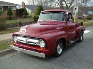 1956 FORD F100 CUSTOM CAB