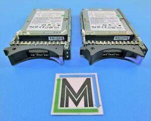 LOT-OF-2-IBM-44V6845-146GB-15K-2-5-034-SAS-HDD-IN-TRAY-44V6843-41Y8482-ST9146852SS