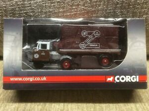 SCAMMELL-GWR-MECHANICAL-HORSE-FLATBED-amp-CONTAINER-1-76-OO-GAUGE-CORGI-BOXED