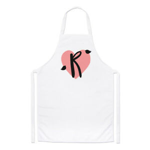 Das Bild Wird Geladen Letter R Herz Alphabet Koch Schuerze Valentinstag  Kochen