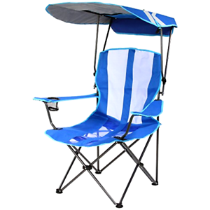 Enjoyable Details About Oversized Camping Chair W Canopy Blue Folding Outdoor Sports Portable Seat New Spiritservingveterans Wood Chair Design Ideas Spiritservingveteransorg