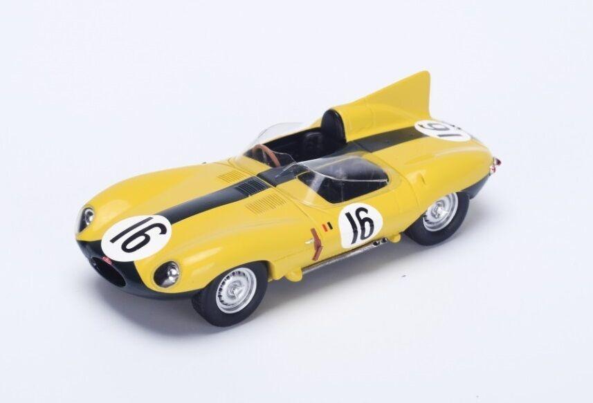 Jaguar D-Type  16 Frère-Rousselle  4th Le Mans  1957 (Spark 1 43   S2131)