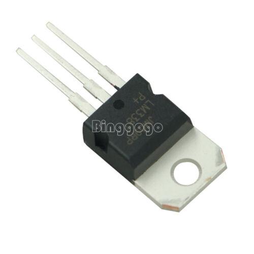 5PCS LM338T LM338 Voltage Regulator 1.2V To 32V 5A TO-220 NEW