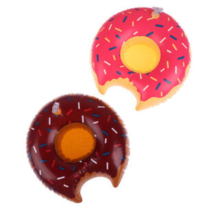 1-Pcs-Inflatable-Floating-Donut-Drink-Cup-Holder-for-Pool-Swim-Ring-Water-TME
