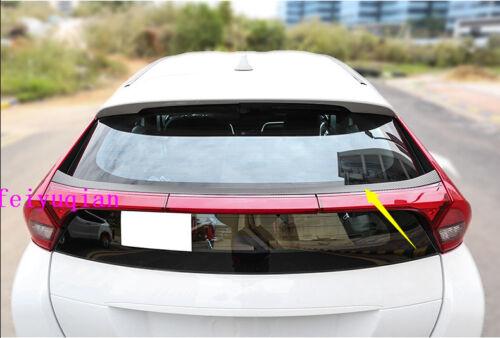 Carbon Fiber Rear Trunk Spoiler Wing Sticker For Mitsubishi Eclipse Cross 2018