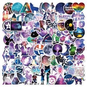100Pc-Mixed-Galaxy-Stickers-Stars-Dream-Anime-Cartoon-Sticker-DIY-Luggage-Laptop