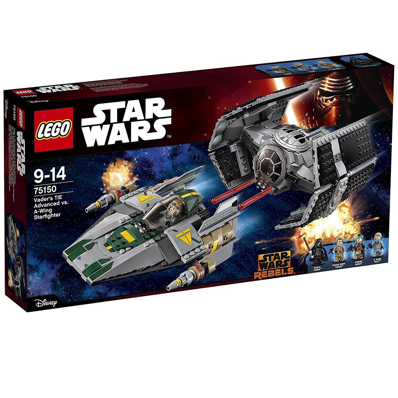 LEGO 75150 - Star Wars - Vader's TIE Advanced vs. A-Wing Starfighter