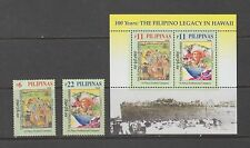 Philippine Stamps 2006 Filipinos Legacy in Hawaii Complete set MNH