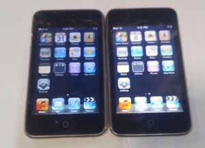 Lot-of-2-Apple-iPod-Touch-2nd-Gen-Black-8-GB-Model-A1288-Read-Below
