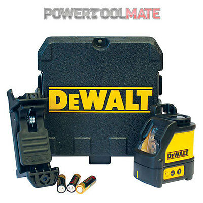 Dewalt DW088K Self levelling line cross line laser kit dw088 genuine uk stock