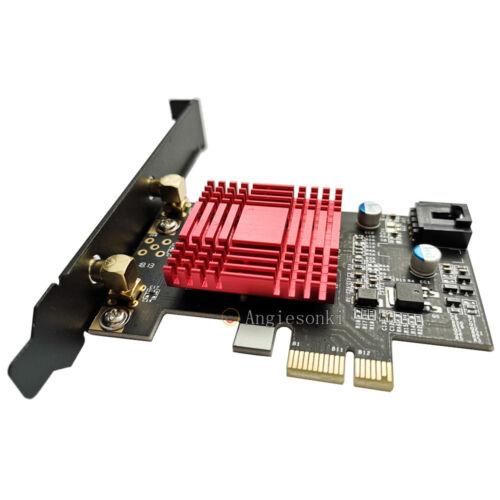 Atheros QCA61x4A QCNFA344A Desktop Dual Band AC WiFi BT 4.0 PCI E 1X Adapter NEW