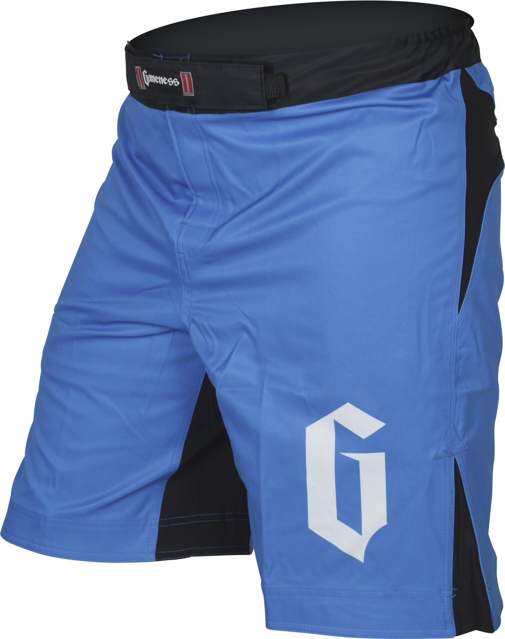 gioconess Strike Pantaloncini Blu Nero No Gi Bjj Grappling Mma Lotta Ju Jitsu