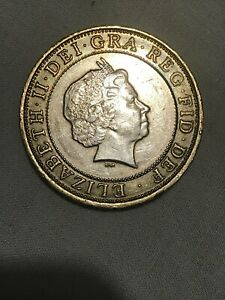 Charles-darwin-2-pound-coin-2-Coins-Rare-Unusual-Circulated-2009