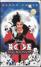 Disney's 101 Dalmatians (live action) -- VHS  -- 1996 -- Clamshell