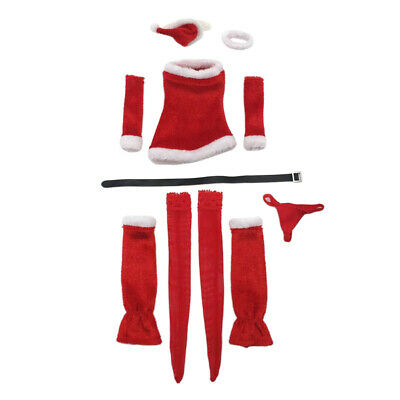 """1//6 CHRISTMAS OUTFITS SET FOR 12/""""   KUMIK FEMALE FIGURE BODY CLOTHES"""
