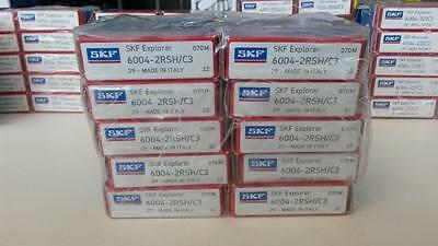 10pcs 6004-2RS SKF Ball Bearing 6004 2rs 20x42x12 mm deep groove ball bearing