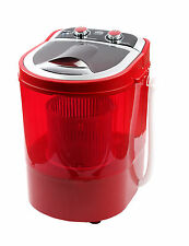 DMR 30-1208 Single Tub Portable Mini Washing Machine with dryer basket (Red)