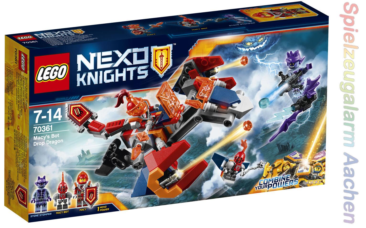 LEGO 70361 Nexo Knights Macys Robo Abwurfdrache mit Steinstampfer N6 17