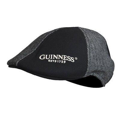Guinness Black English Label Baseball Cap Irish Ireland Adjustable Hat New