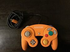 Official Orange  GameCube Controller WORKS GREAT!