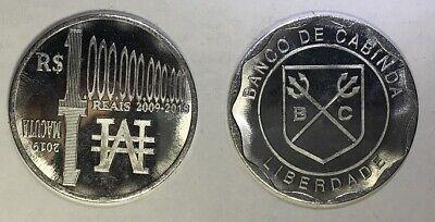 CABINDA NEW lot 5x 50 Reais 2015 FAO unusual coinage