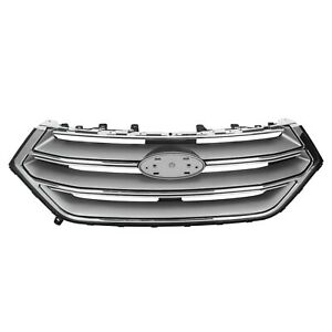 For-2015-2018-Ford-Edge-Front-Upper-Grill-Factory-Style-Grille-Sport-Version