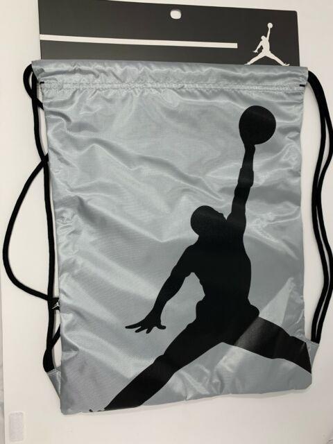 b8b3ef9ecee7 Nike Air Jordan Jumpman Drawstring Backpack Wolf Gray 9a1940-g3a