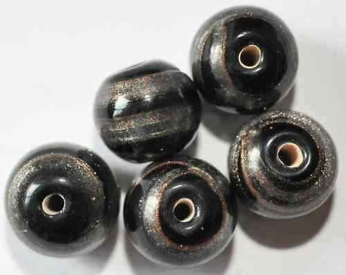 10 abalorios bolas 10 mm Aa1-09