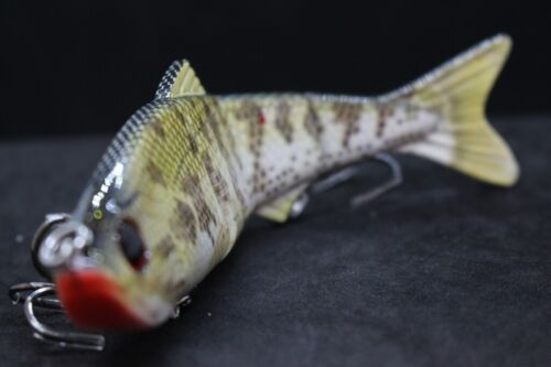 wLure 6 Inch 1 1//3 oz 4 Segments Swimbait Sinking Saltwater Fishing Lure HS4