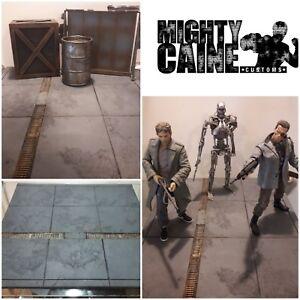 Custom-Diorama-Pavement-1-6-Neca-SH-fig-Marvel-Legends-Black-Series-Mezco