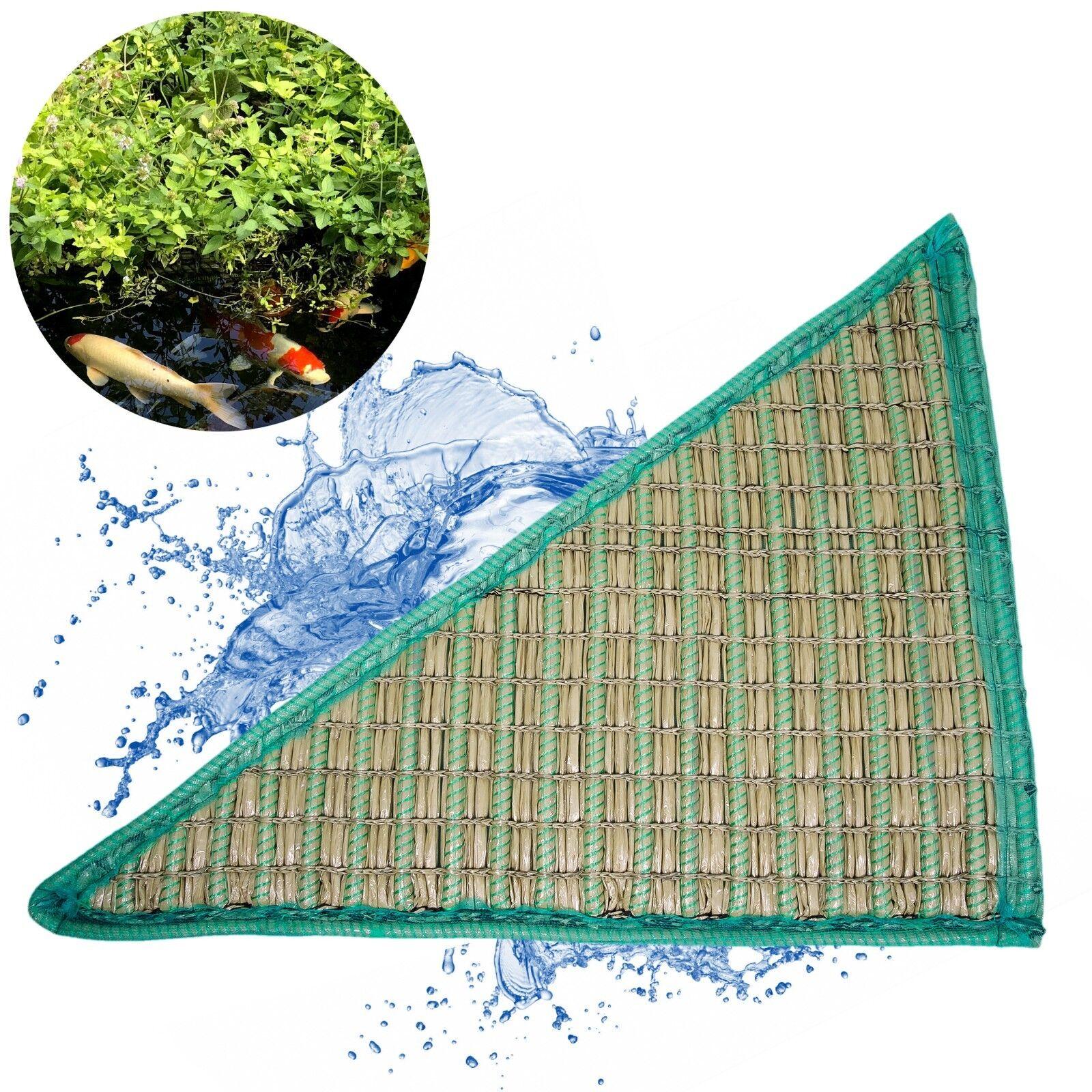 Galleggianti pflanzinsel triangolare 120x120x160cm koipon ® per circa 16 piante laghetto