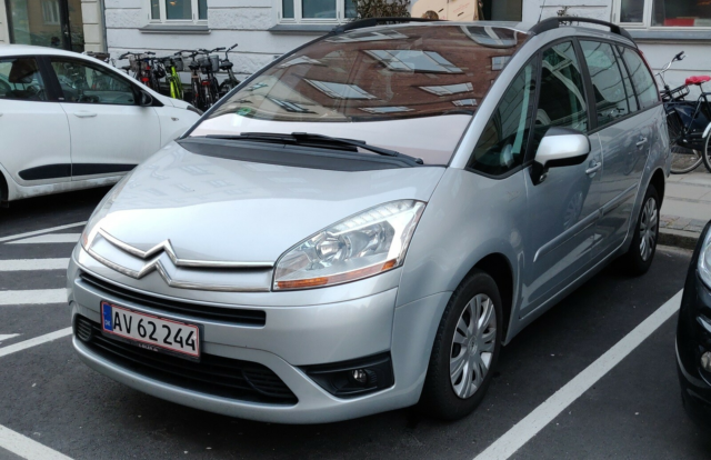 Citroën Grand C4 Picasso, 1,6 HDi 110 VTR Pack 7prs,…