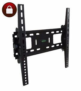 LCD-LED-PLASMA-TV-WALL-MOUNT-BRACKET-TILT-30-32-37-40-42-45-46-47-50-55-LOCKABLE