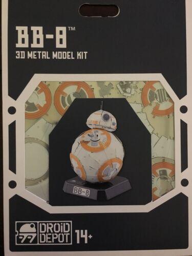 STAR WARS-GALAXY'S EDGE METAL EARTH DROID DEPOT BB-8 3D METAL MODEL KIT