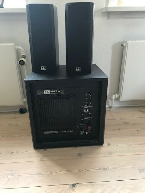 7.1 højttalersæt, Andet, LD Systems Dave-8 xs