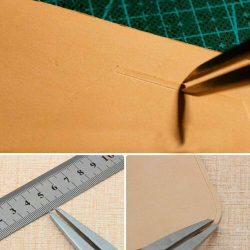 Leather Craft Rotating Craft Tool Diy Wing Divider Adjustable Steel Leather X2M5
