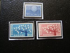 Norwegen-Briefmarke-yvert-und-tellier-Nr-407-433-434-n-A22
