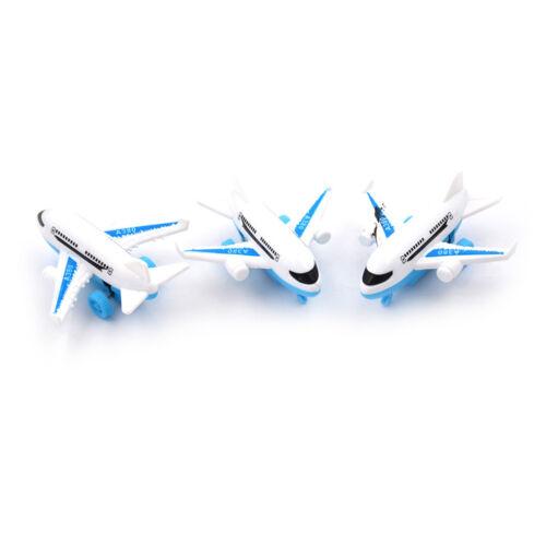 Alloy Air Bus Model Kids Children Pull Back Airliner Passenger Plane Toy Gift