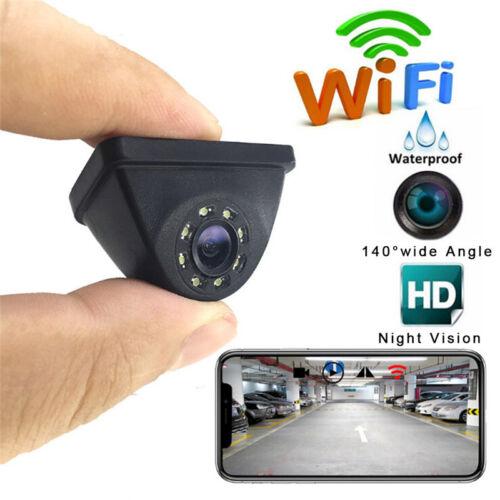 HD140° WiFi coche inalámbrico vista trasera cámara de copia de seguridadinversa