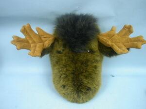 Large Plush Wall Mount Moose Head Ebay