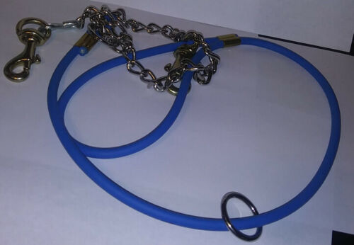 Tree Lead Leash Chain Blue Hunting Hounds Bird Hog Coon Dogs Rolled Beta Rope 5/'